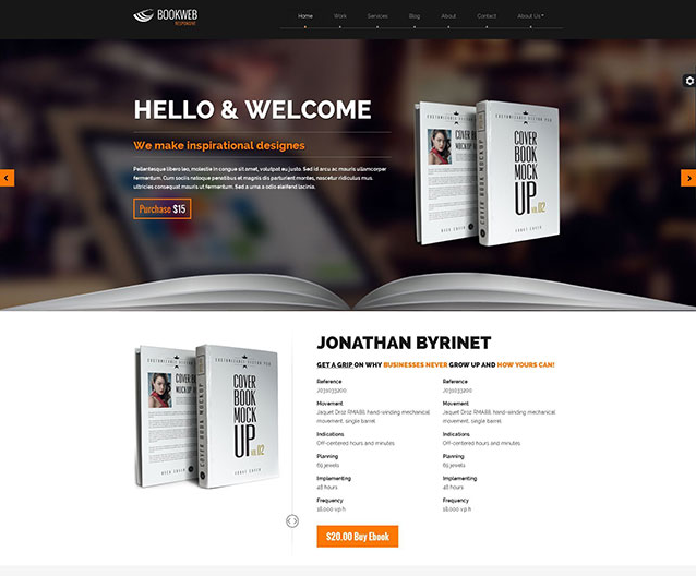 product review template wordpress - best wordpress themes for writers publishers self