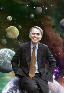 A celebrity foreword by Carl Sagan helped Hawking's book