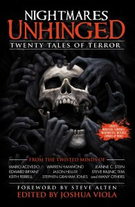 Nightmares Unhinged: Twenty Tales of Terror by Joshua Viola and Steve Tem