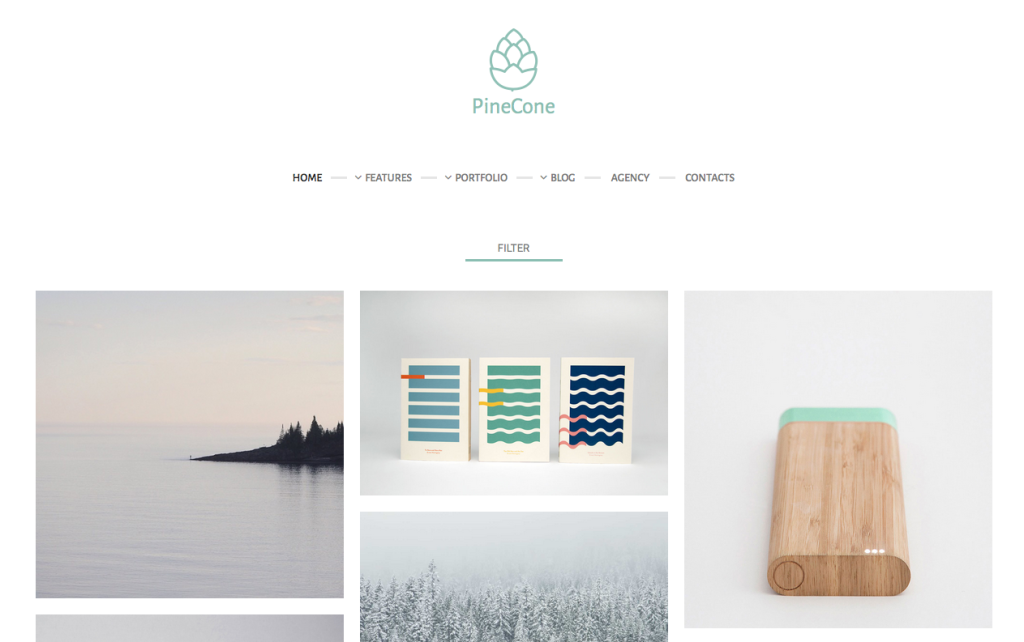 Pinecone Theme
