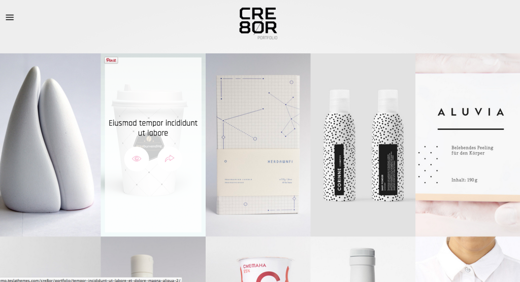 Cre8or Theme