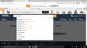 Search Box Amazon