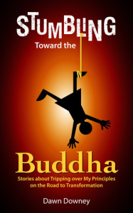 Stumbling Toward the Buddha by Dawn Downey