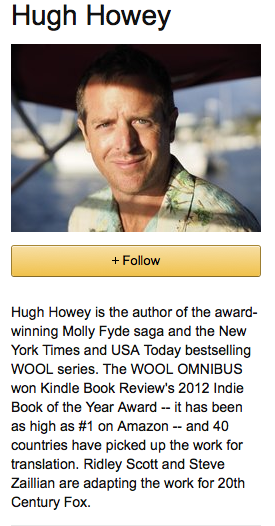 Hugh Howey Author Central