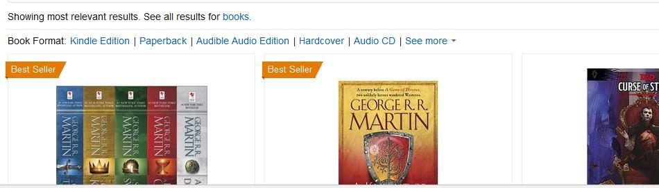 Amazon poplist