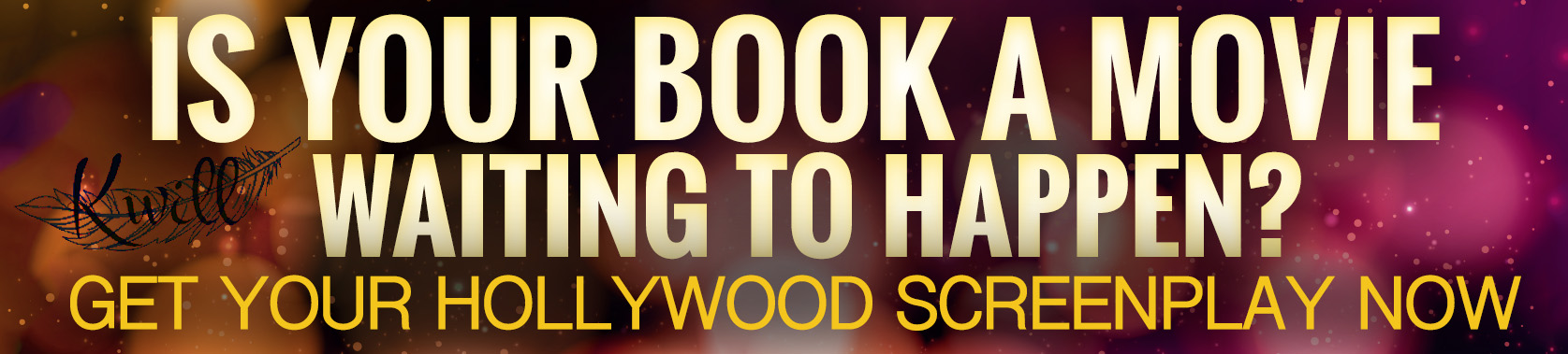 Book To Screenplay Services at Kwill