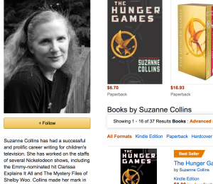 Suzanne Collins Author Central