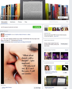 ebooks on facebook