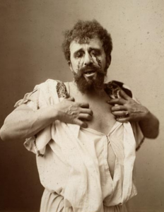 Louis Bouwmeester as Oedipus in a Dutch production of Oedipus the King c. 1896.