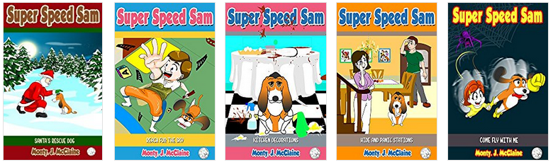 Super Speed Sam Books