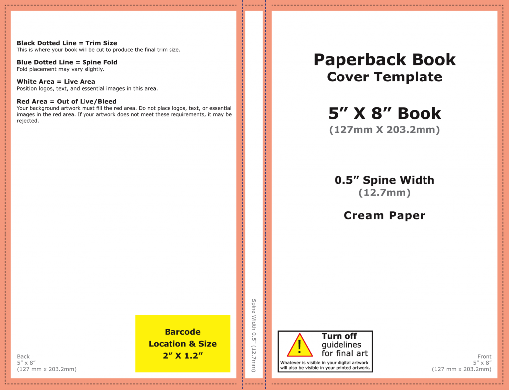 Book Cover Template Createspace : How to get the best paperback cover you can with