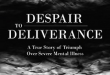 Review: Despair to Deliverance by Sharon DeVinney, Ph.D. & Robin Personette