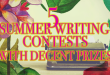 5 Summer Writing Contests 2017