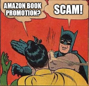 Not all book promotion is a scam
