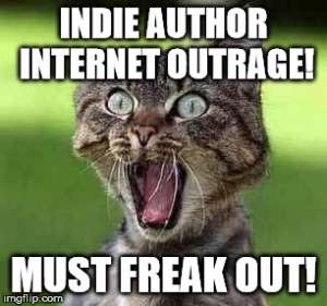 indie author internet outrage