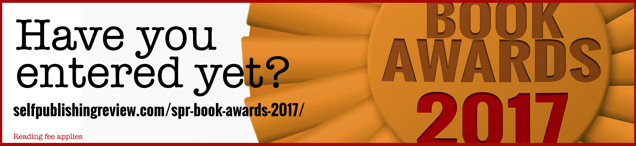 SPR AWARDS 2017 OPEN FOR SUBMISSIONS!